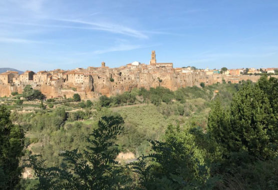 Italy bike tour-Pitigliano