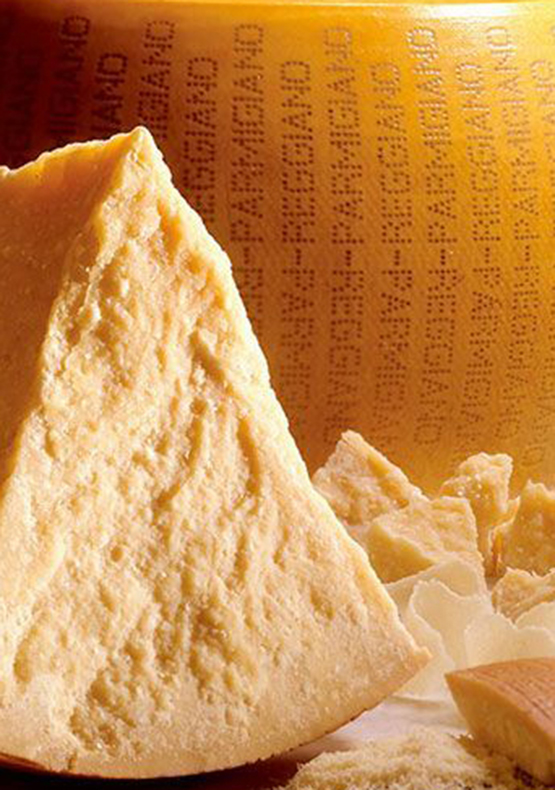 from la spezia to parmigiano cheese