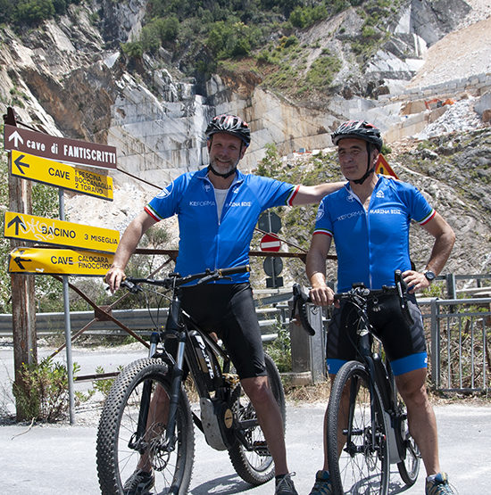 carrara bike tour