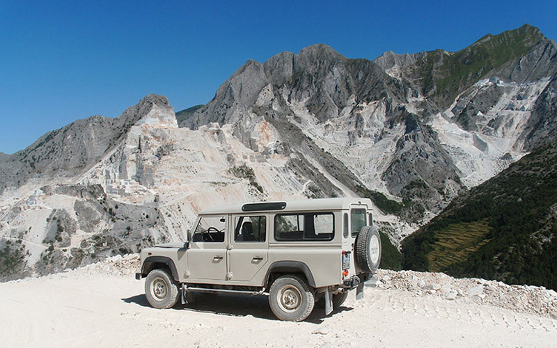 carrara marble quarries 4x4 tour