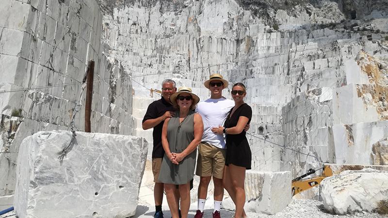 cave di marmo-foto-gruppo