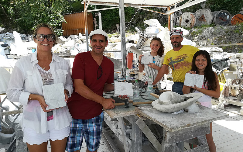 carrara sculpting experience
