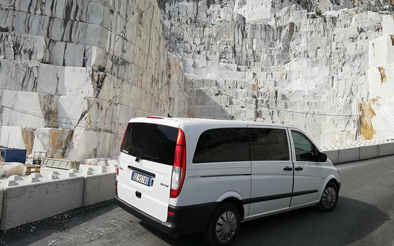 cave di marmo-minivan